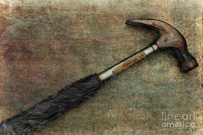If I Had A Hammer... Print by Rene Crystal