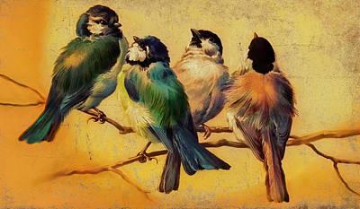 Lindberg Painting - If I Had To Choose by Douglas MooreZart