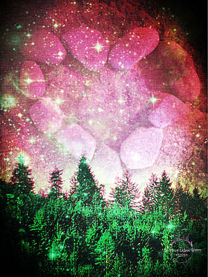 Digital Art - If The Sky Was Pink... by Absinthe Art By Michelle LeAnn Scott