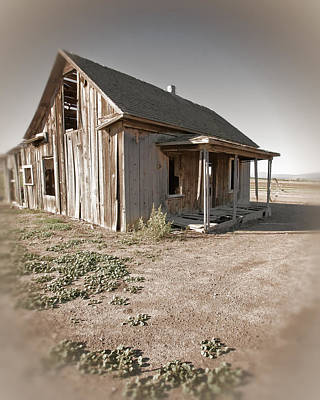 Abandoned House Photograph - If This Homestead Could Speak by Bonnie Bruno