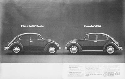 If This Is The 1971 Beetle.............. Art Print by Georgia Fowler