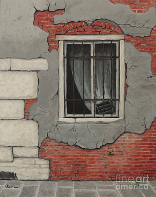Painting - If This Wall Could Talk by David Swint