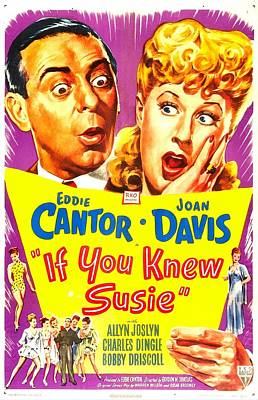 If You Knew Susie, Us Poster, Eddie Art Print