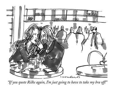 If You Quote Rilke Art Print