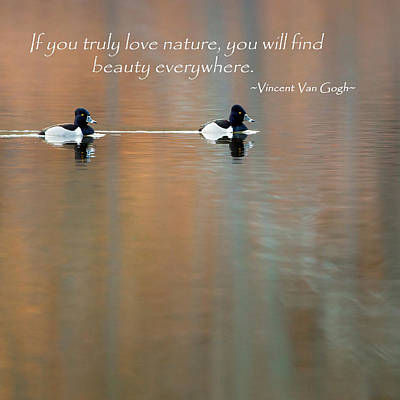 Photograph - If You Truly Love Nature Square by Bill Wakeley