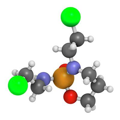 Ifosfamide Cancer Chemotherapy Drug Art Print by Molekuul
