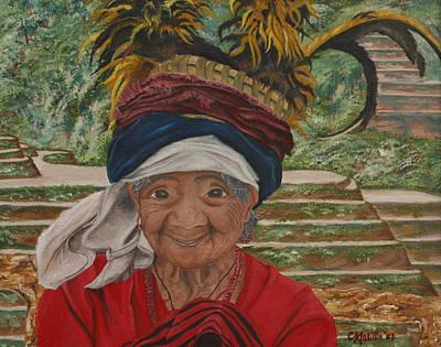 Painting - Ifugao  by Carol Tsiatsios