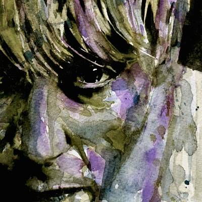 Rock Drawings Painting - Iggy by Paul Lovering