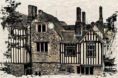 Ightham Mote Original by Paul Stevens