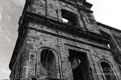Photograph - Iglesia De La Compania De Jesus Mono by John Rizzuto