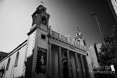 iglesia san agustin Santiago Chile Art Print by Joe Fox