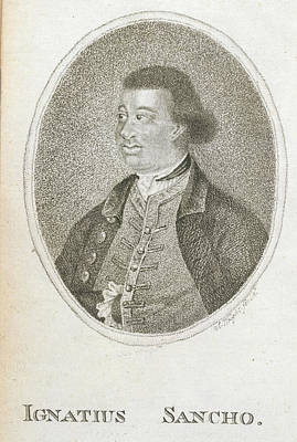 Black History Photograph - Ignatius Sancho by British Library