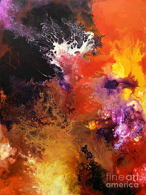 Painting - Ignition 1 by Sally Trace
