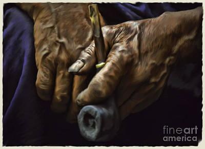 Igorot Photograph - Igorot Hands by Paul Dieter