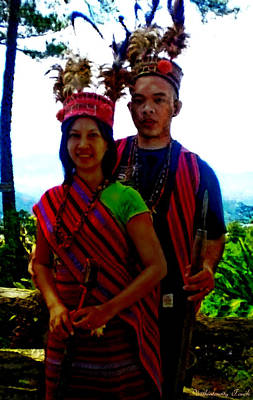 Igorot Painting - Igorot Outfit by Withintensity  Touch