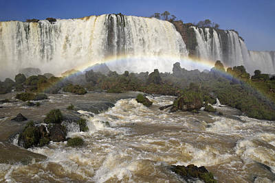 Photograph - Iguassu Falls by Michele Burgess