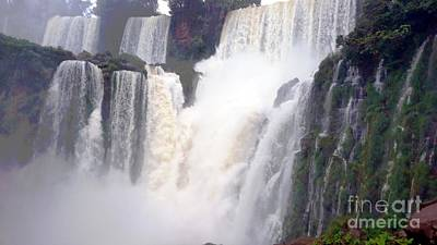 Photograph - Iguazu Falls 2 by Vicky Tarcau