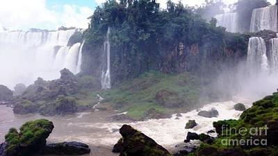 Photograph - Iguazu Falls 3 by Vicky Tarcau