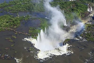 Iguazu Falls Art Print by Alfred Pasieka