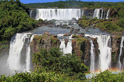 Photograph - Iguazu Falls by Ginny Barklow