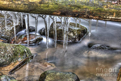 Frost Photograph - Icicles Time by Veikko Suikkanen