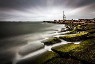 Netherlands Wall Art - Photograph - Ijmuiden Lighthouse by Sus Bogaerts