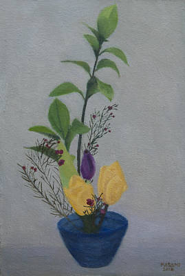Painting - Ikebana by Masami Iida