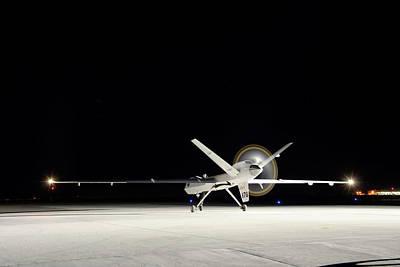 Ikhana Unmanned Aerial Vehicle Art Print by Nasa, Tony Landis