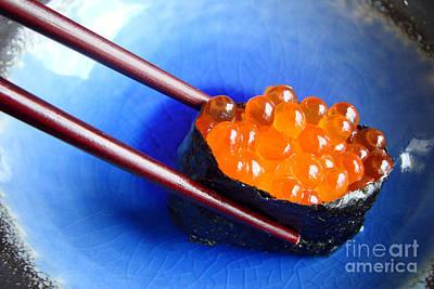Ceramic Fish Photograph - Ikura by Delphimages Photo Creations