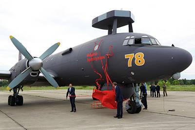 Ilyushin Photograph - Il-38n Novella Anti-ship Airplane by Artyom Anikeev