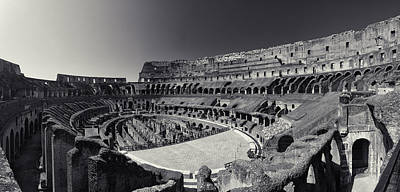 Photograph - Il Colosseo by Brad Brizek