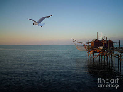 Photograph - Il Trabucco - The Trebuchet Fishing by Zedi