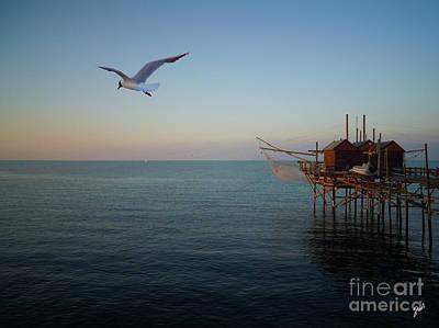 Photograph - Il Trabucco - The Trebuchet Fishing by Zedi