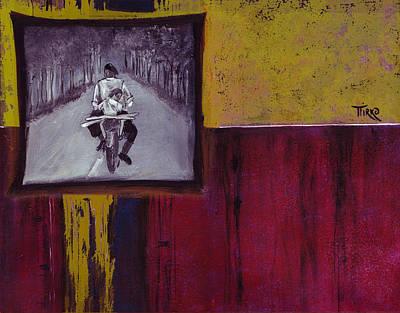 Il Y A 50ans... Sur Une Route De France Art Print by Mirko Gallery