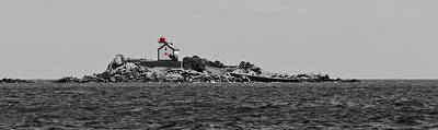 Photograph - Ile Harbour Lighthouse by Gary Eason