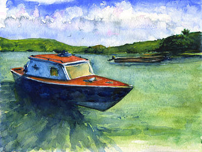 Painting - Iles Des Saintes by John D Benson
