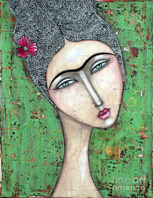 Kahlo Mixed Media - I'll Be There by Natalie Briney