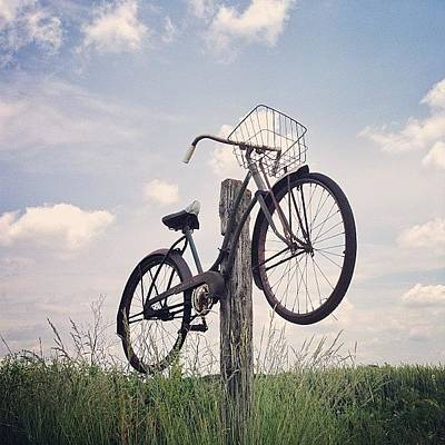Cycling Wall Art - Photograph - I'll Get You, My Pretty!  #ohio by Eric Shanteau