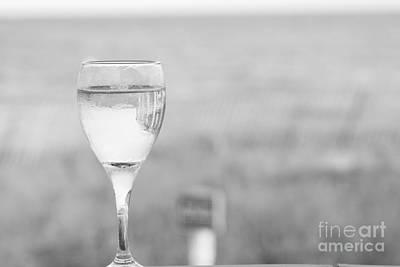 Vino Photograph - I'll Have A Glass by Barbara Bardzik