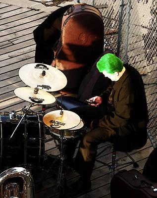 Music Ipod Digital Art - I'll Just Download That Drum App by Steve Taylor