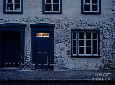Entrance Door Photograph - I'll Leave The Light On For You by Edward Fielding
