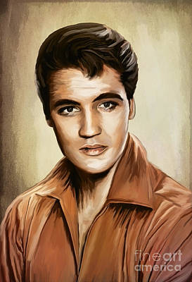 Elvis Presley Mixed Media - I'll Remember You......elvis by Andrzej Szczerski