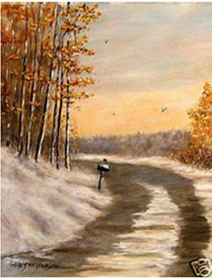 Kentucky Landscape Artist Painting - Illinois Avenue by Gerry Furgason