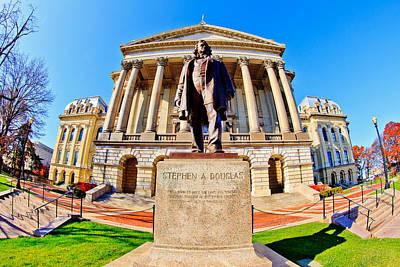 Photograph - Illinois Capitol Building by Ben Graham
