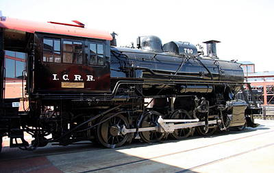 Illinois Central Railroad Photograph - Illinois Central Lokomotive No 790  by Christiane Schulze Art And Photography