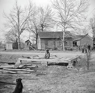 Illinois Rebuilding, 1937 Art Print
