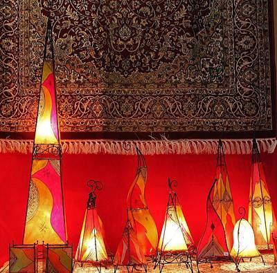 Illuminated Lights Art Print