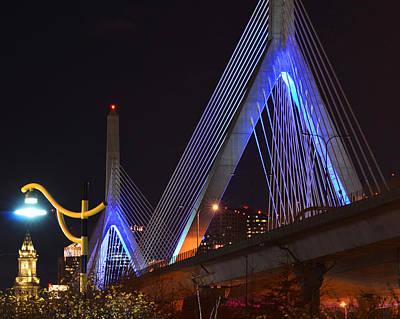 Photograph - Illuminating Boston by Toby McGuire