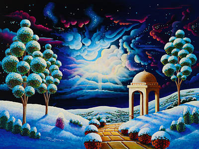 Unreal Painting - Illumination 2 by Andy Russell