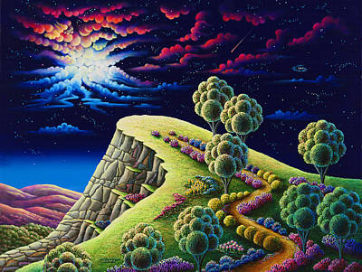 Unreal Painting - Illumination Point by Andy Russell